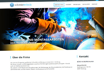 Strona internetowa schweisstechnik