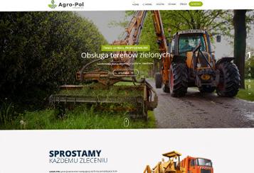 Responsywna strona internetowa Agro-Pol Chojnice