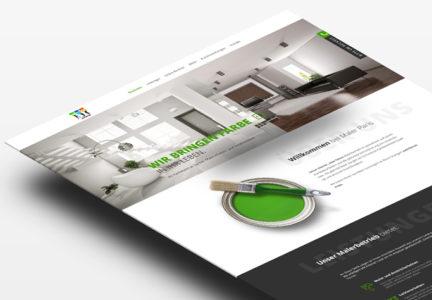 Strona internetowa dla firmy remontowej