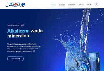Centrum dystrybucji alkalicznej wody JAVA