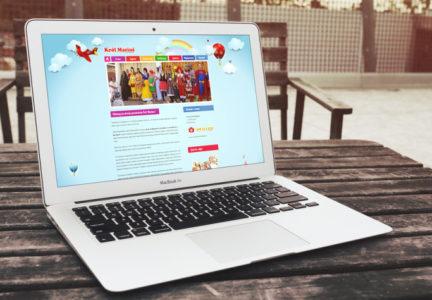 Strona internetowa dla przedszkola