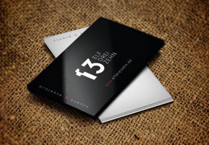 Wizytówki dla agencij eventowej