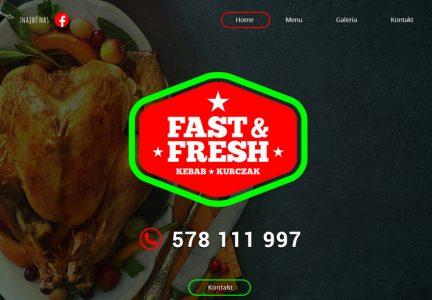 Strona internetowa dla małej gastronomii